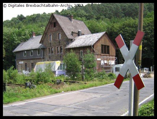 Bf Grenzau neues Andreaskreuz